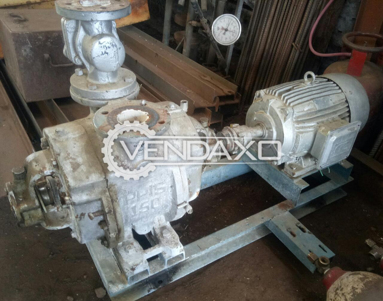 For Sale Used Vacuum Pump - 15 HP