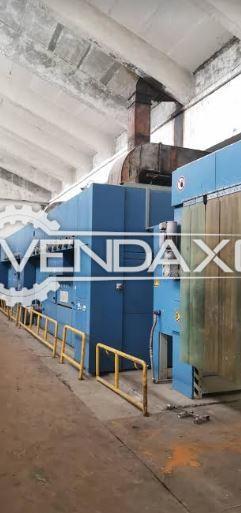 Monforts Continues Dryer Machine - Width - 180 CM