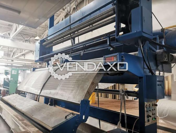 Zimmer Rotary Textile Printing Machine - 340 CM, 16 Color