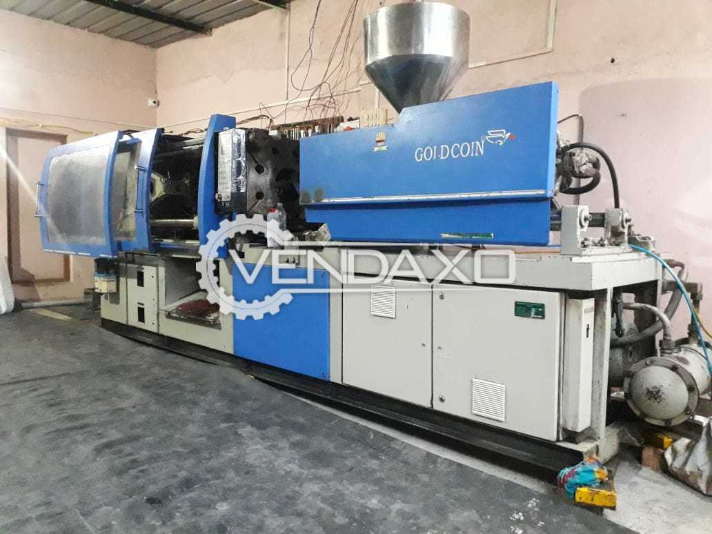 Goldcoin Injection Molding Machine - 120 Ton, 2012 Model