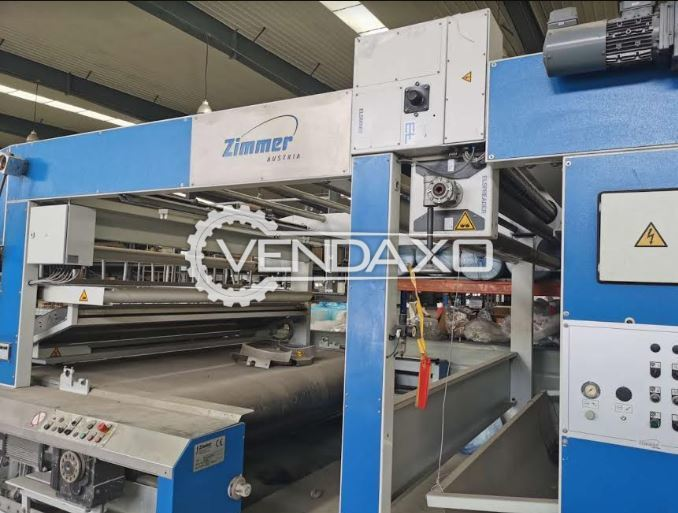 Zimmer Rotary Textile Printing Machine - 225 CM, 8 Color