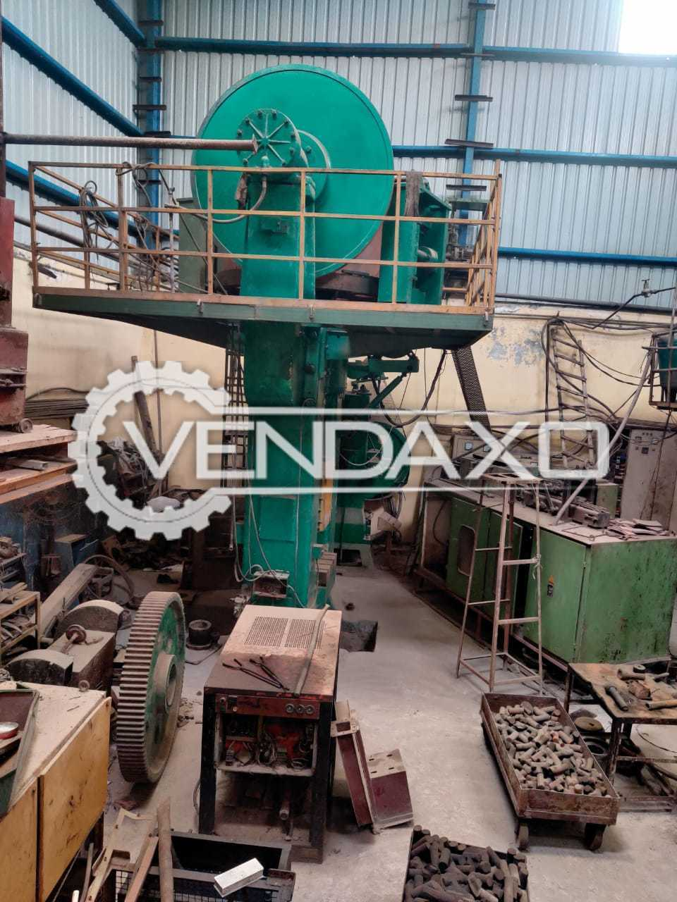 For Sale Used Qingdao honda Power Press - 630 Ton