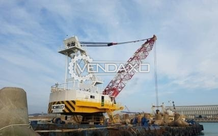 For Sale Used Floating Revolving Crane - 225 Ton