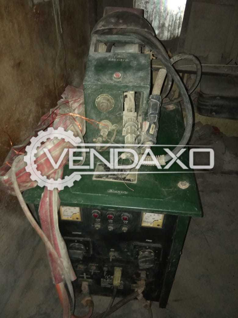 For Sale Used Electra Mig Welding - 400 AMPS & Drilling & JB Tapping Threading Machine