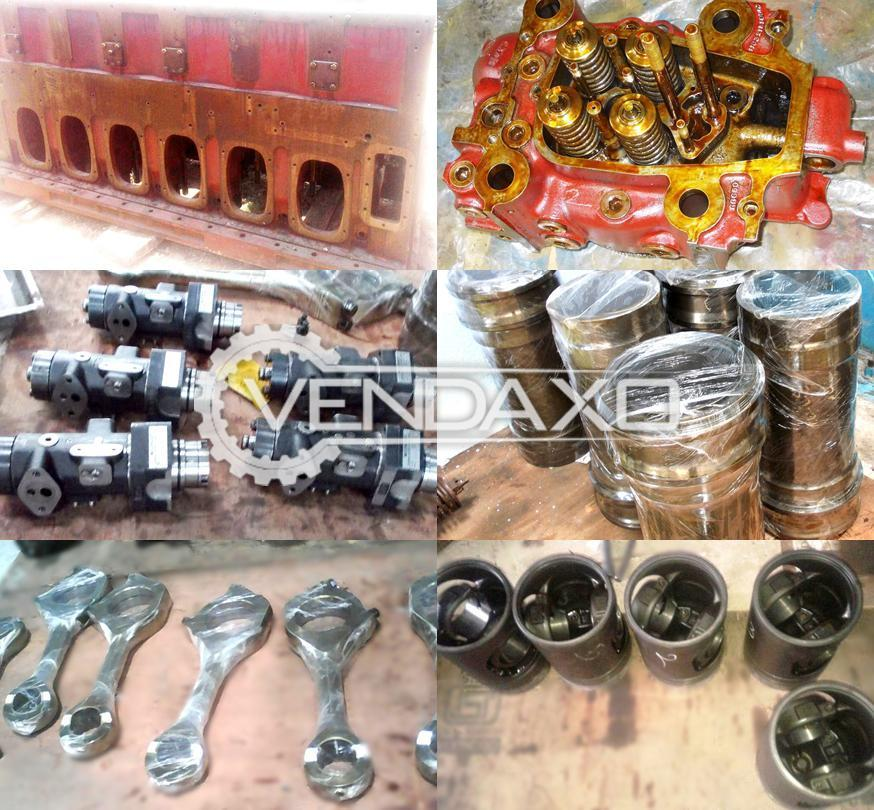 For Sale Used MAK M20 Diesel Engine Spare Part - 1995 Model