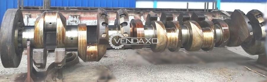 For Sale Used MAK 8M552AK Diesel Engine Crankshaft - 1998 Model