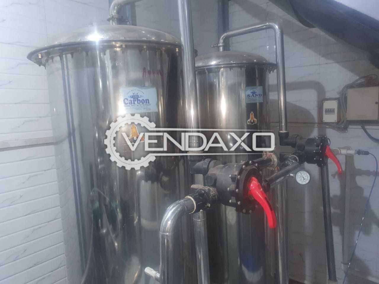 For Sale Used Bansal Make Drinking Water & Bottling Plant Equipment