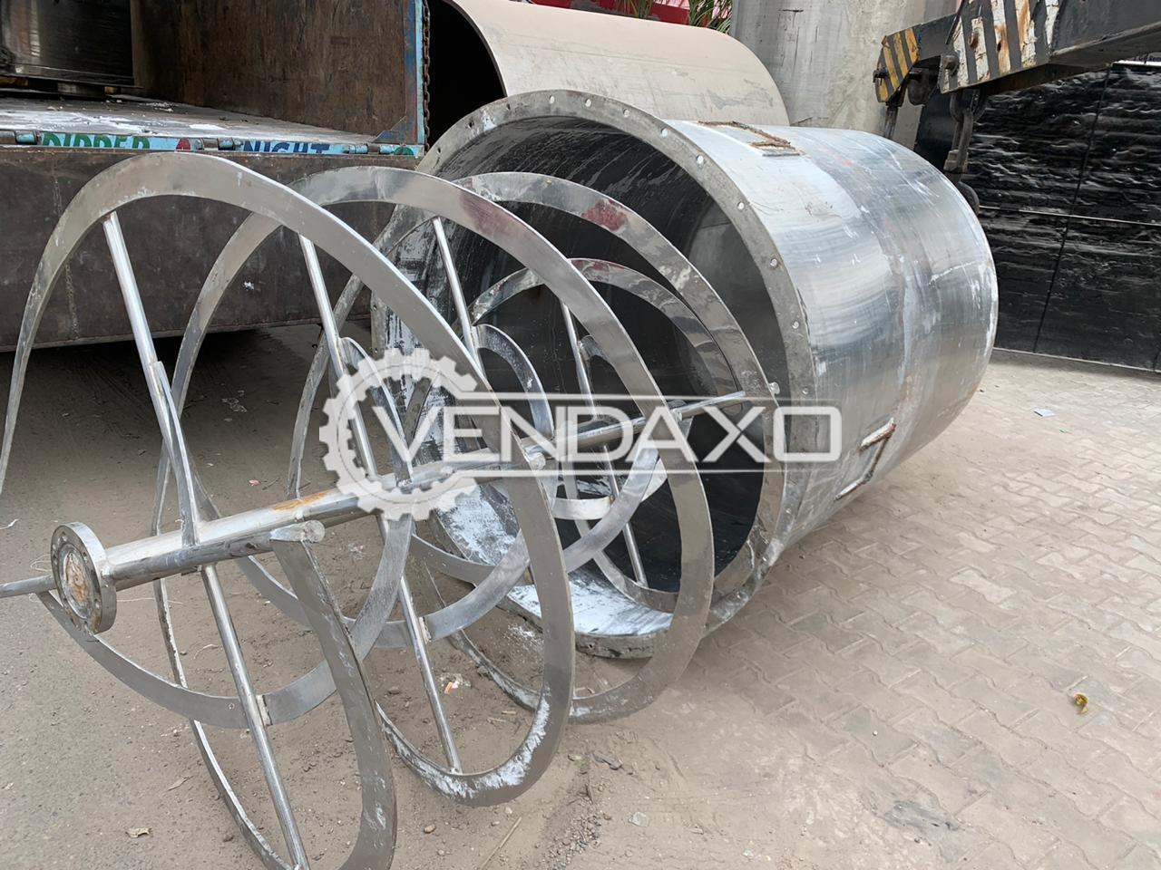For Sale Used Vertical Blender Machine - 3000 KG