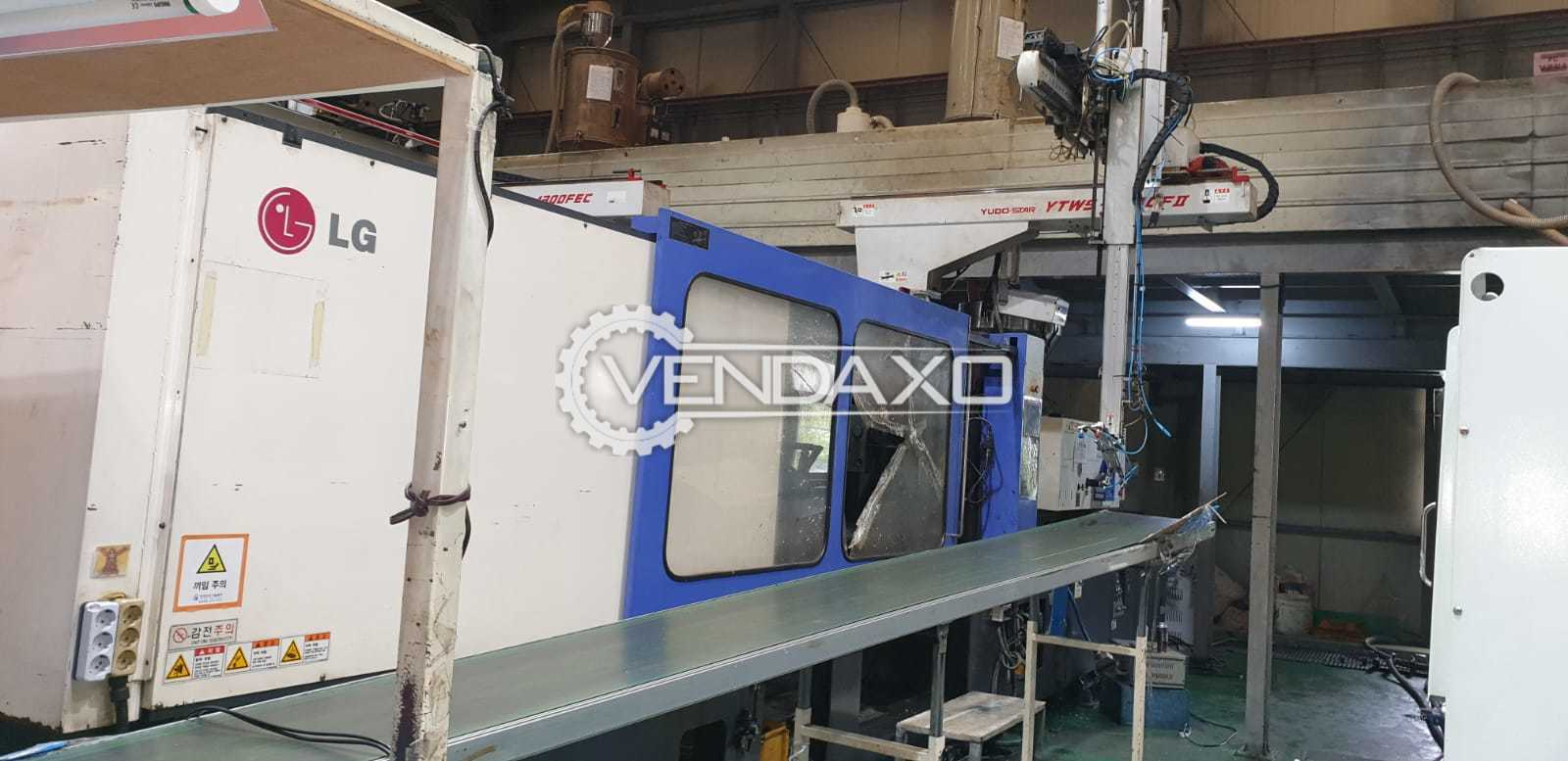 LG LGH-650N Injection Moulding Machine - 650 Ton
