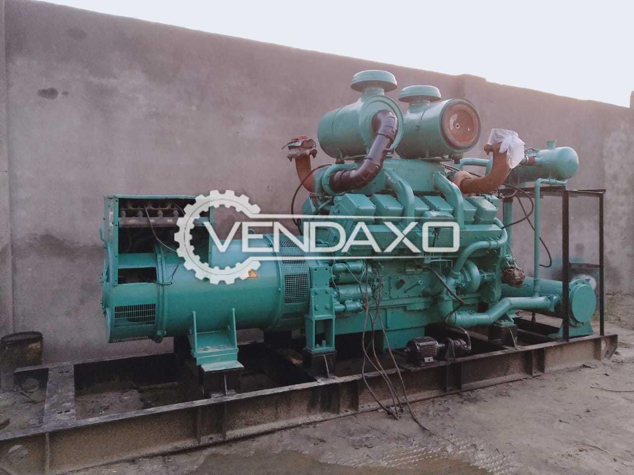 Cummins Jakson KTA-2300 Diesel Generator - 750 Kva, 1997 Model