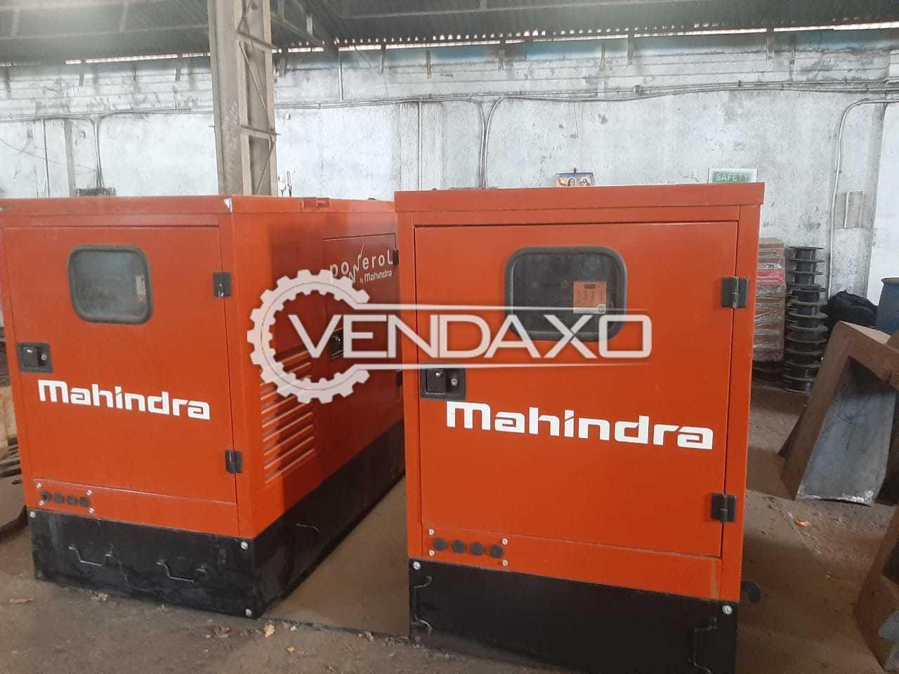 Mahindra & Mahindra 4375GM Diesel Generator Engine - 35 Kva