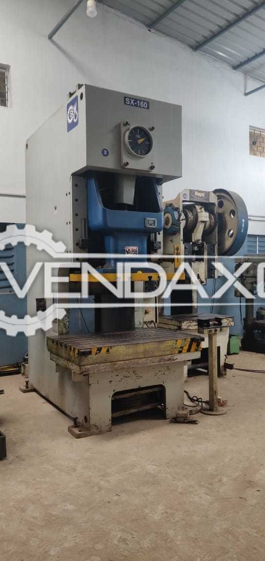 Singhal SX-160 Power Press Machine - 160 Ton