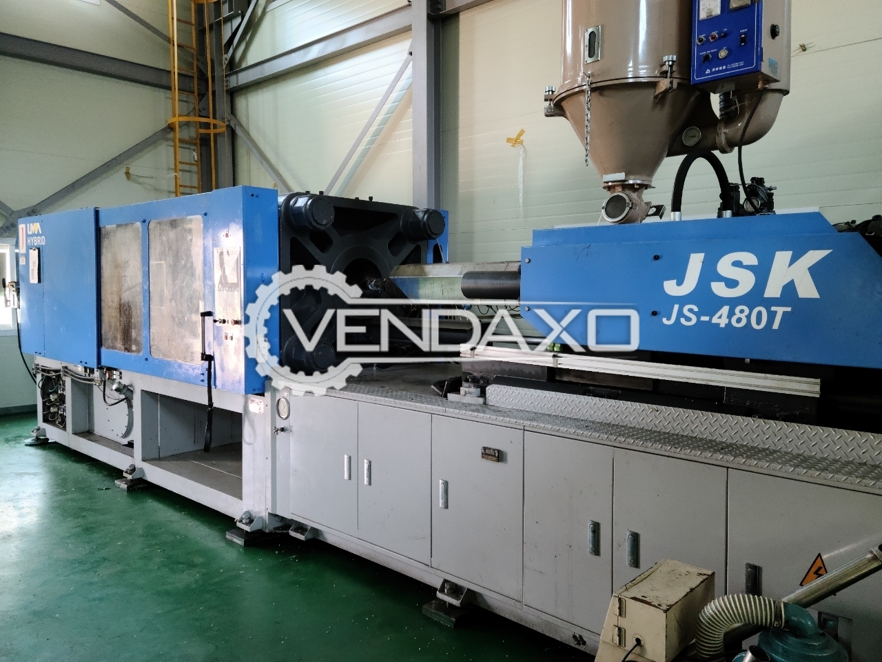 Woojin JSK JS-480T Injection Moulding Machine - 480 Ton