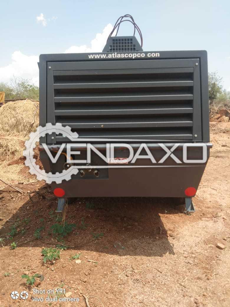 Atlas Copco XAHS 186 Oil Lubricated Air Compressor - 7 Bar