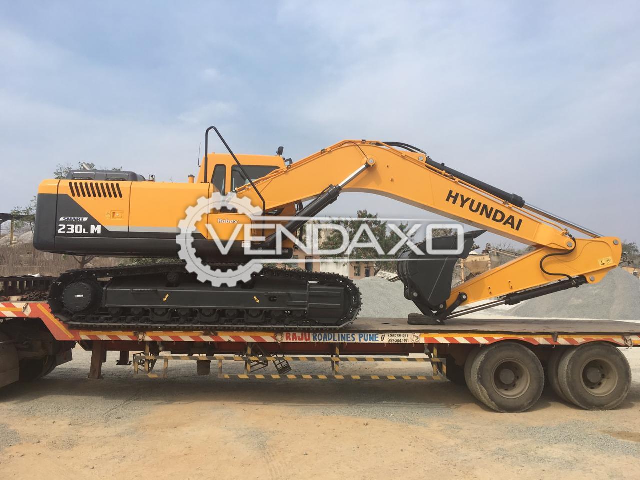 Hyundai 230LM Smart Excavator - 148 HP