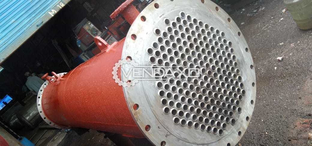 SS 316 Condenser With MS/SS Jacket & SS Domes - 5 to 60 Square Meter