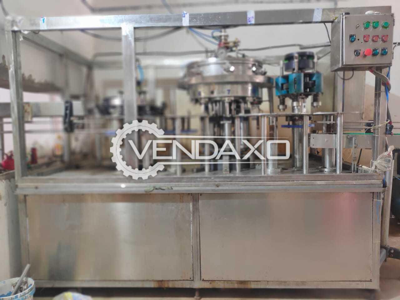 Rajshree Aqua Tech Cold Drinks Bottling Plant - 40 Bottle Per Minute