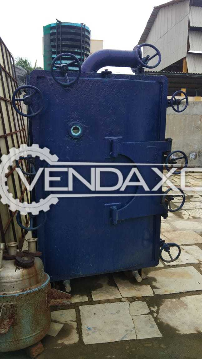 SS Vacuum Tray Dryer (VTD) - 48 Tray