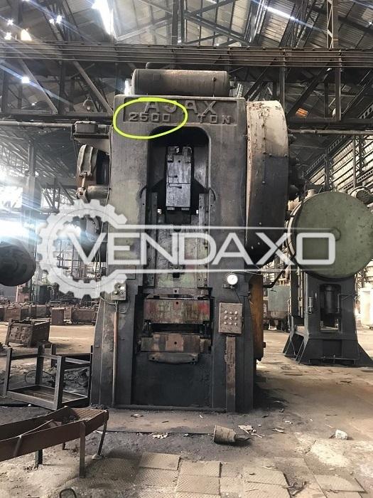 Ajax Forging Press Machine - 2500 Ton