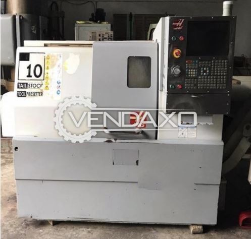 Haas SL10 CNC Turning Center - Chuck Size - 150 mm