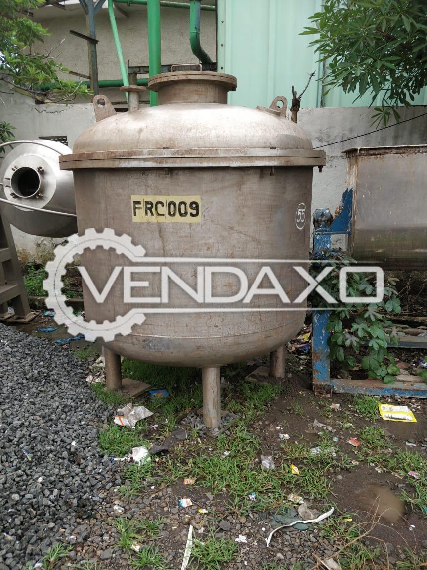 SS 316 Pressure Nugde Filter - 500 & 3000 Liter