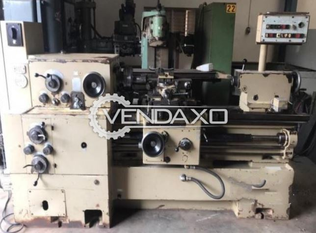 WMW Niles DH250/IIIx630 Relieving Lathe Machine - Turning Length - 630 mm