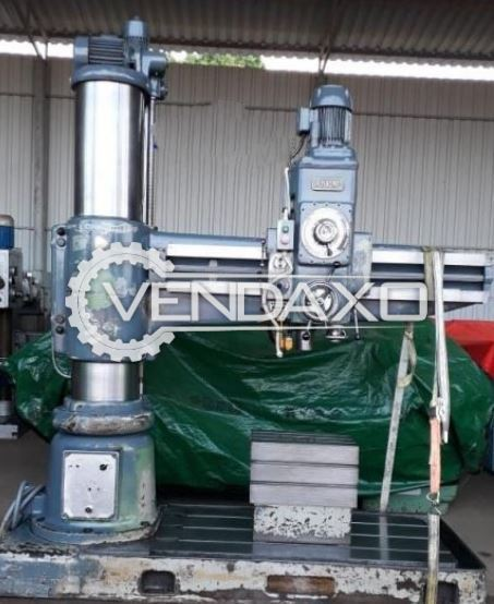 Breda R1580 MP Radial Drill Machine - 1580 x 65 mm