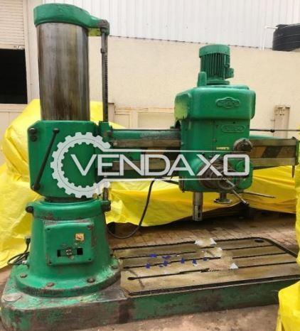 MAS VR4 Radial Drilling Machine - 1200 x 50 mm