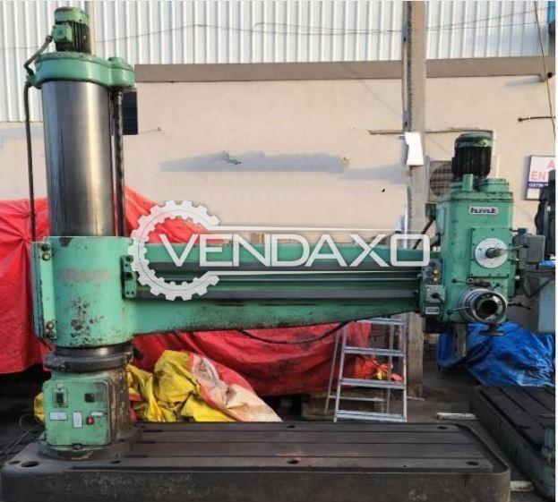 HMT RM 65 Radial Drill Machine - 2350 x 50 mm