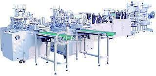 For Sale Used Sahil Graphics N95 Mask Machine - 2020 Model