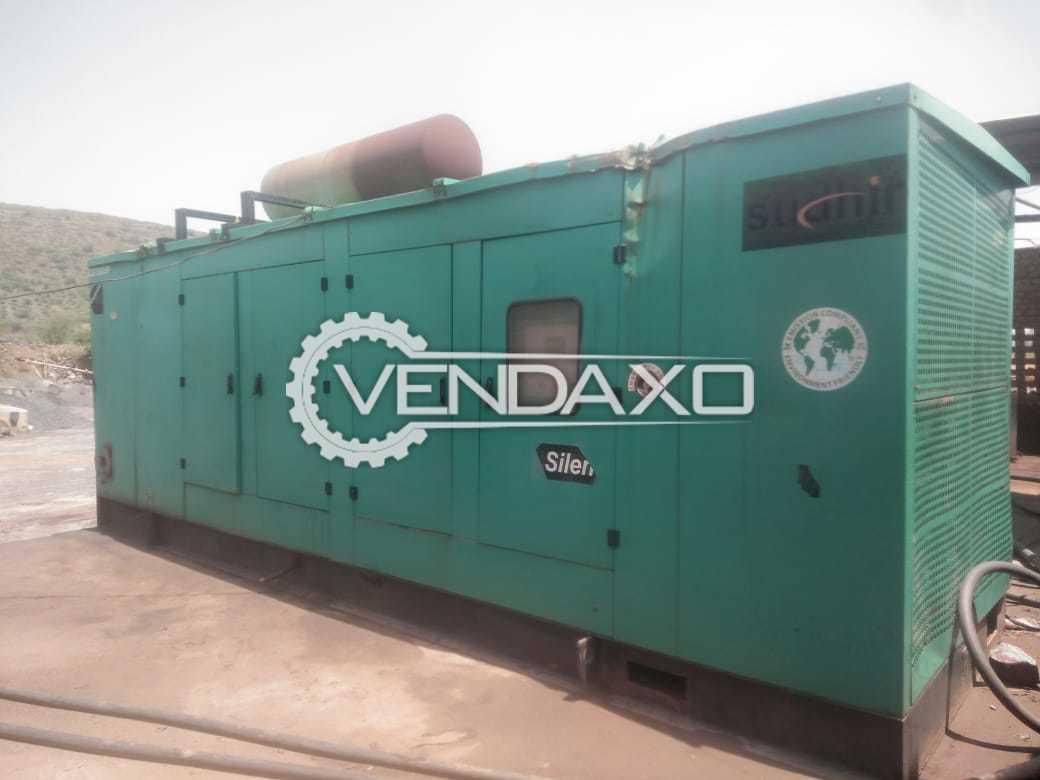 Cummins Sudhir Diesel Generator - 750 Kva