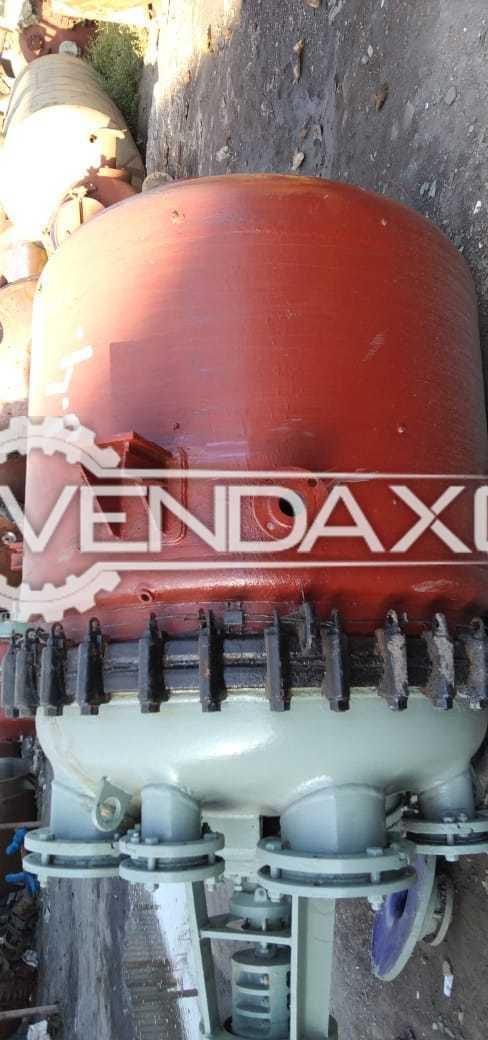 GMM Pfaudler Glass Line Reactor (GLR) - 1200 Liter