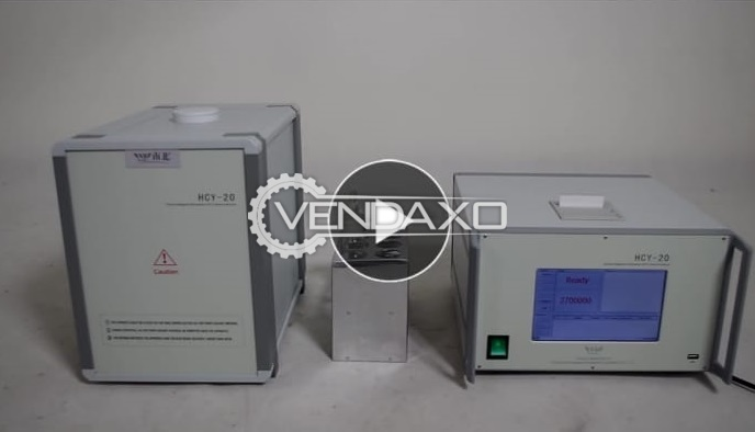 China Make HCY 20 NMR Analyzer Machine - 20 GM