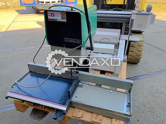 Nagel Citoborma 180 Paper Drill Machine - 1 Spindle