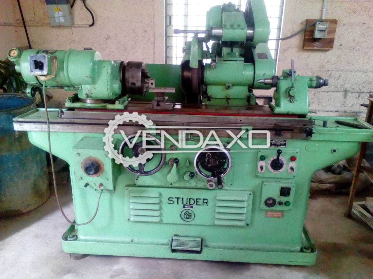 Fritz Studer Cylindrical Grinding Machine - 600 x 300 mm