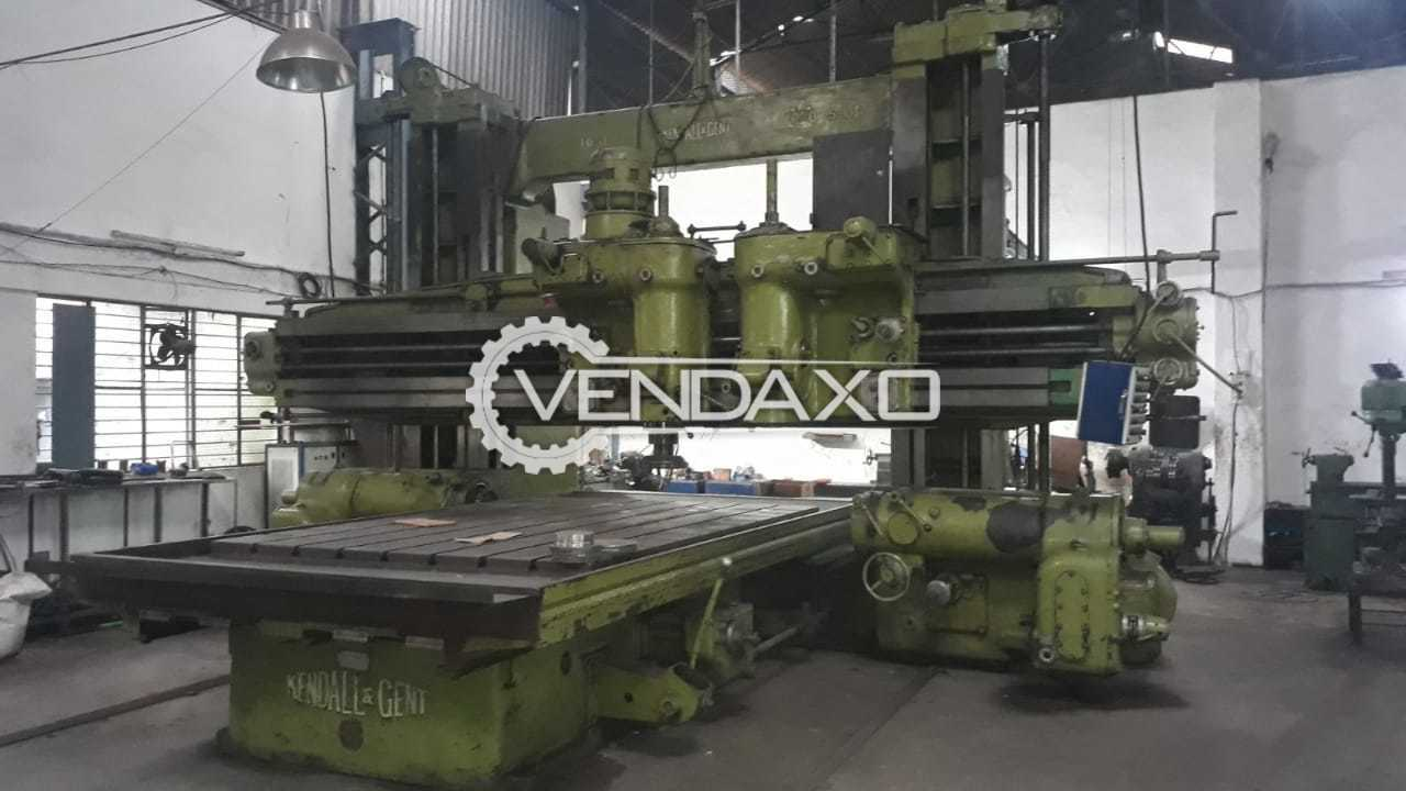 SHW Germany CNC Bed Type Universal Head Milling Machine - Table Size - 1350 x 1350 mm