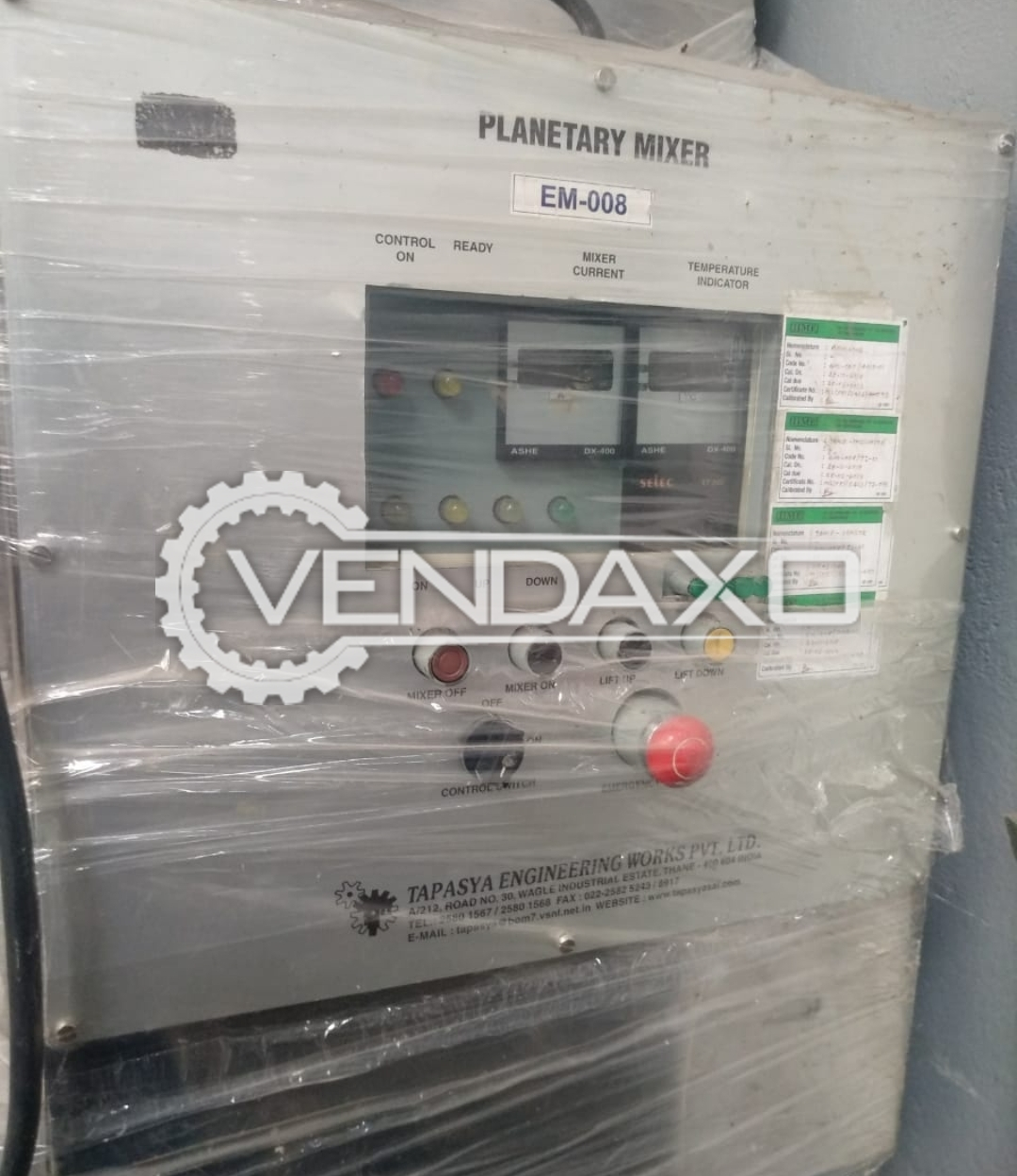 Planetary Mixer - 100 KG