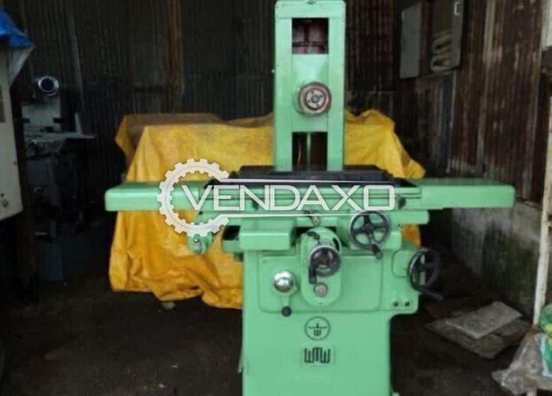 WMW Surface Grinding Machine - Magnet Size - 600 x 200 mm
