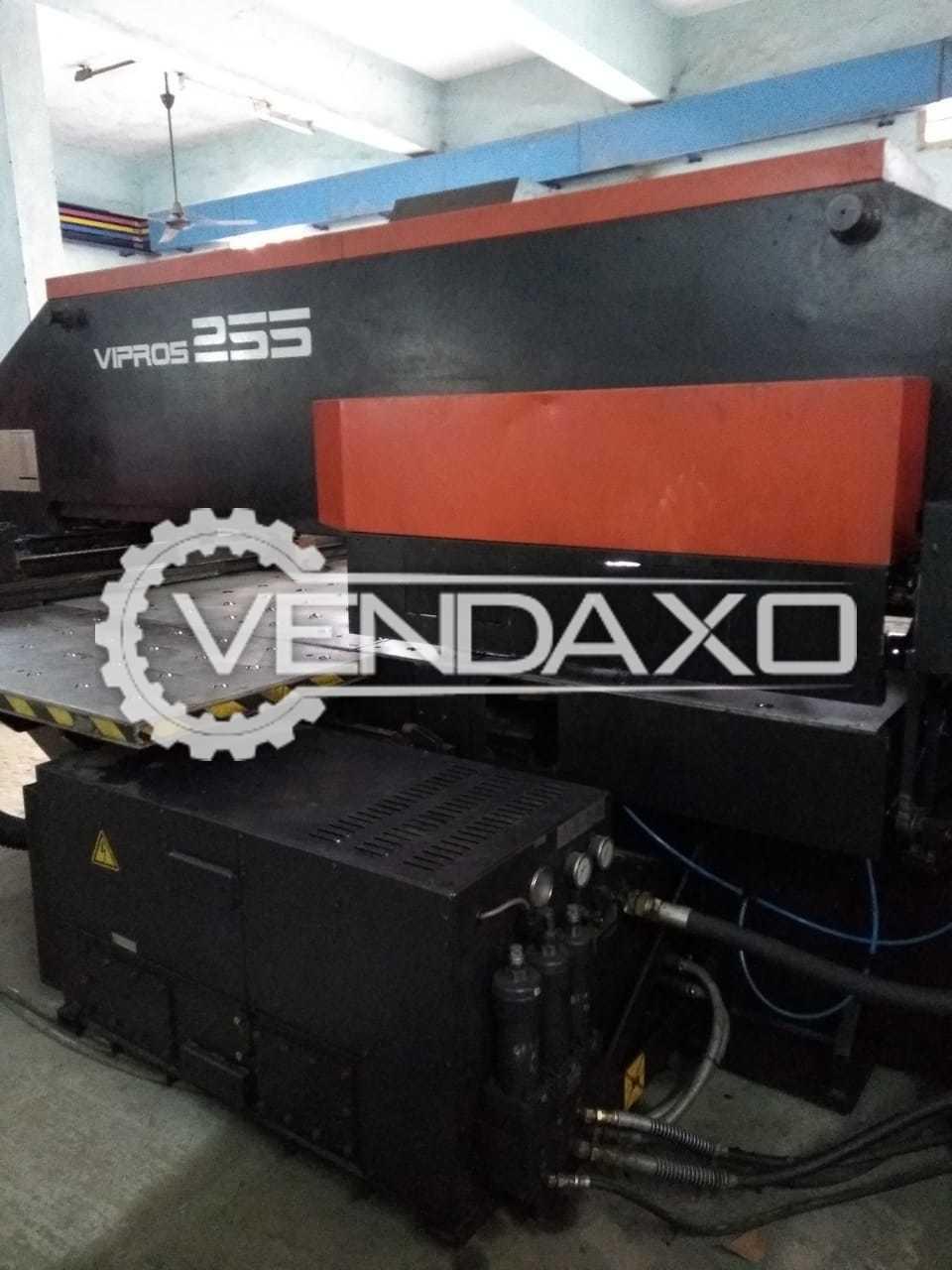 Amada Vipros 255 CNC Turret Punching Machine - 1250 x 2500 mm