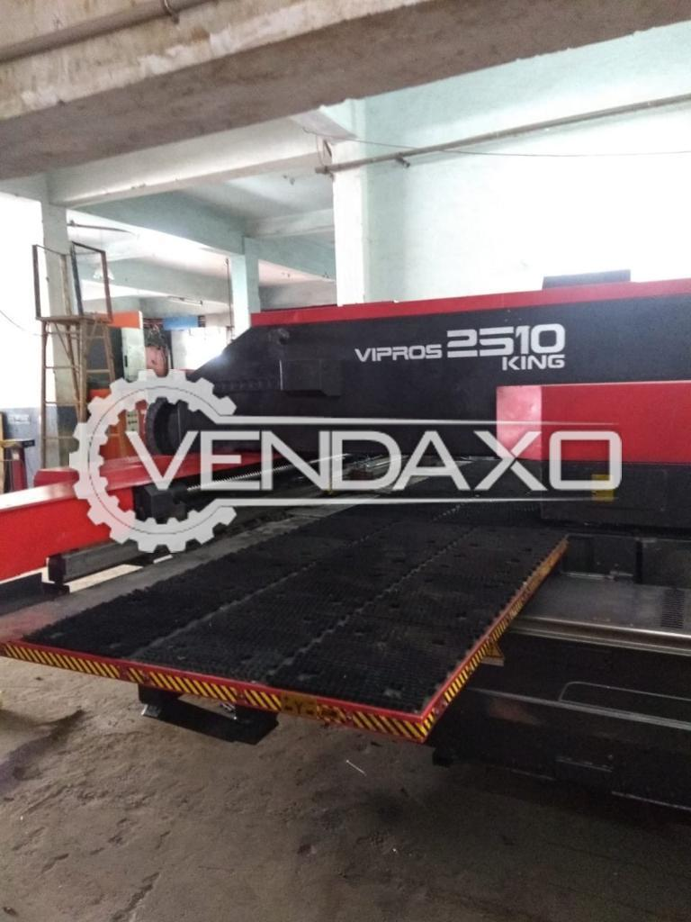 Amada Vipros 2510 King CNC Turret Punching Machine - 2540 x 1270 mm