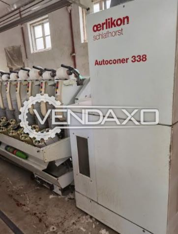 Schlafhorst 338 Autoconer Winding Machine - 60 Spindle