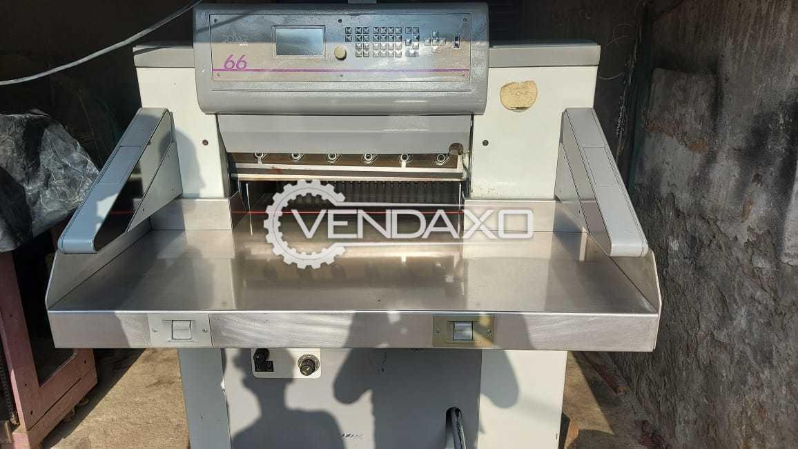 Polar Mohr 66E Paper Cutting Machine - 26 Inch, 1997 Model