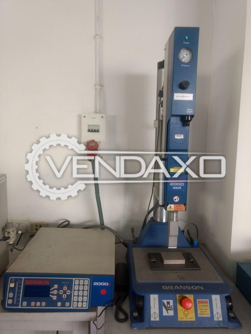 Branson 2000-AE Ultrasonic Welding Machine