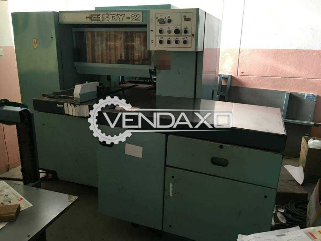 Perfecta SDY 2 Trimmer Machine - 3 Knife, 1993 Model