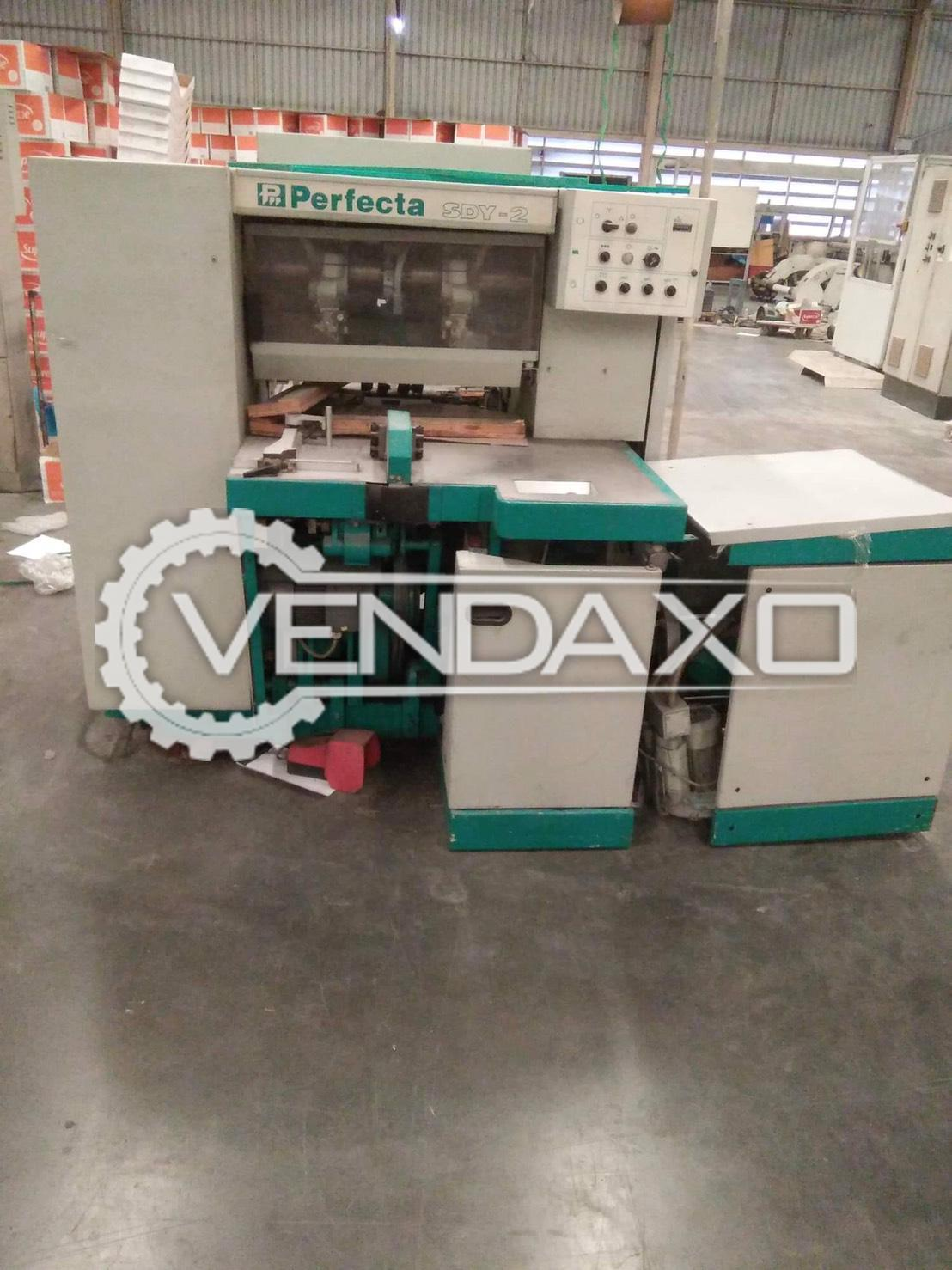 Perfecta SDY 2 Trimmer Machine - 3 Knife, 2001 Model