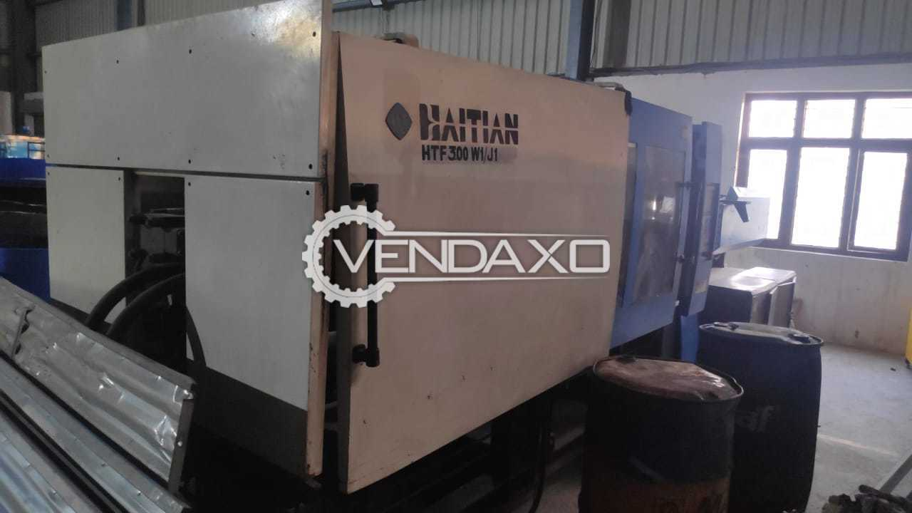 Haitian HTF300 W1/J1 Injection Moulding Machine - 300 Ton