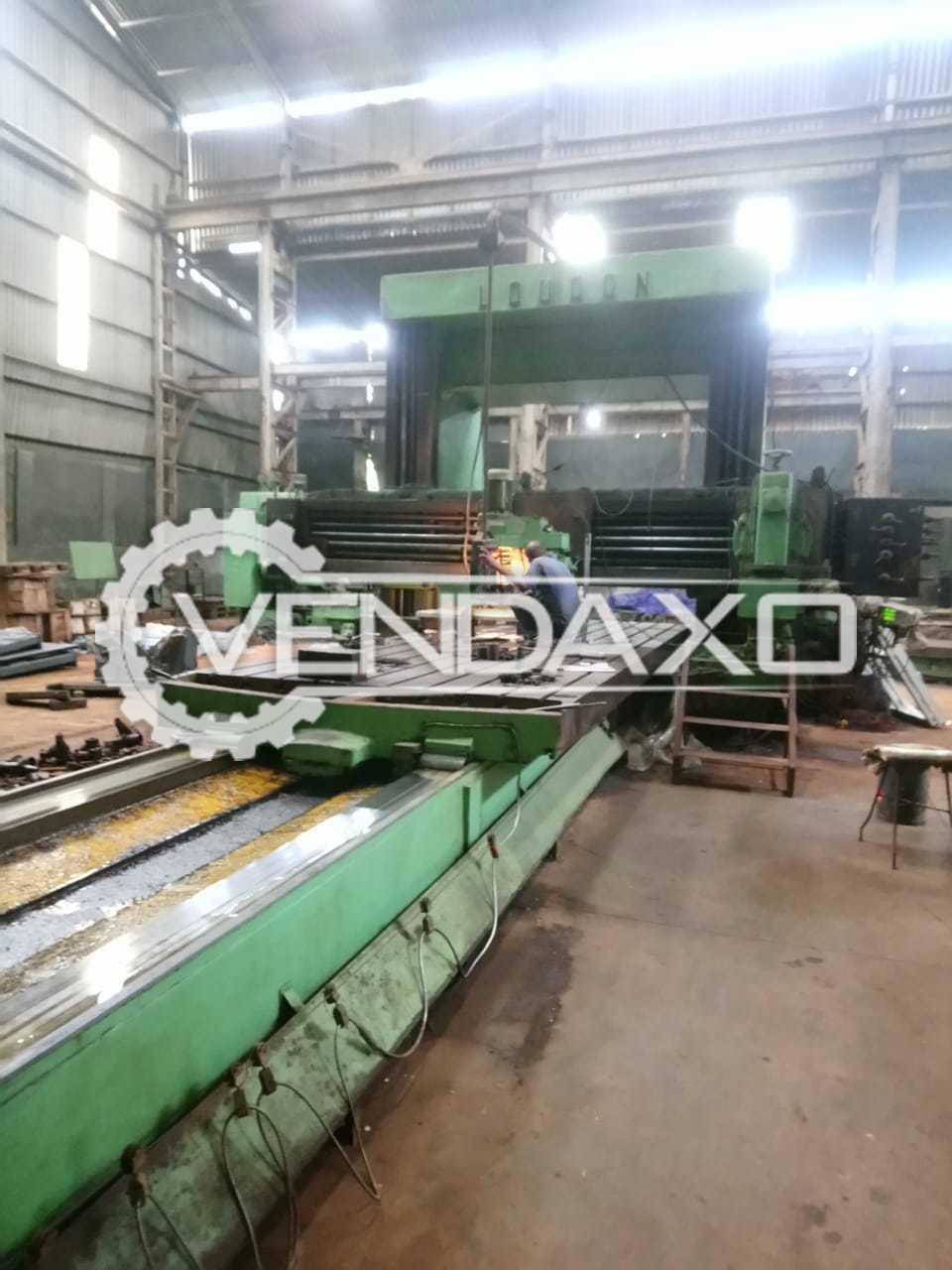 Loudon Plano Miller Machine - Table Size - 6000 x 2000 mm