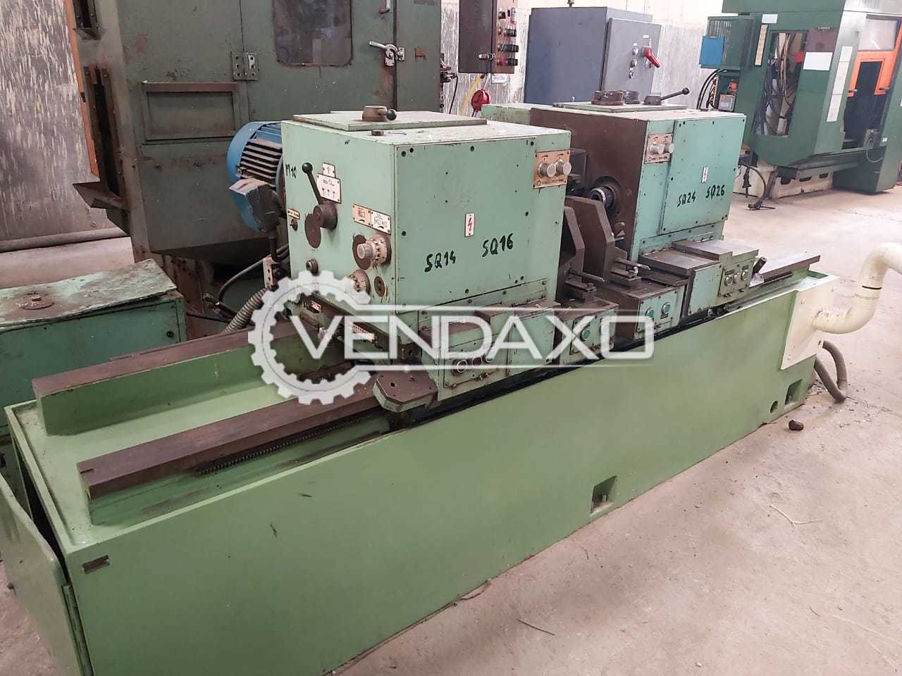 WMW Facing Centering Grinding Machine - Length - 1250 mm