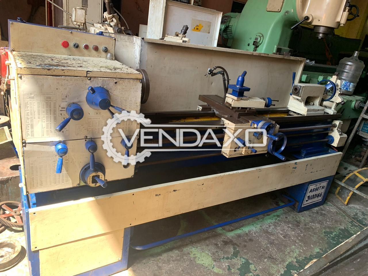 Kirloskar 2215 All Geared Lathe Machine - Length - 1500 mm
