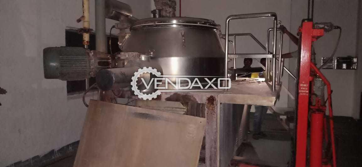 Saizoner 1000L Rapid Mixing Granulation (RMG) - 1000 Liter